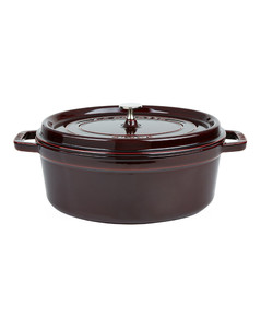 Grenade Red Oval Cocotte (31cm)