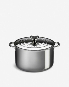 Stainless steel Stockpot with lid 24cm