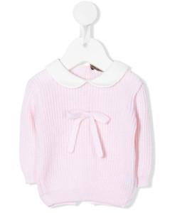 Kids Teddy Bear Embroidered Sweatshirt