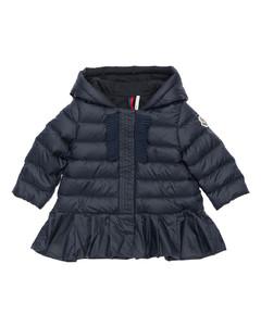 Neila Hooded Nylon Down Jacket