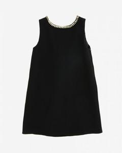 dress with jewel chain
