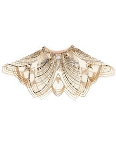 Shark Print Cotton Jersey T-shirt