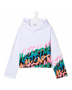 backpack in printed canvas