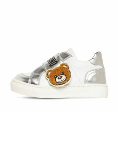Leather Strap Sneakers
