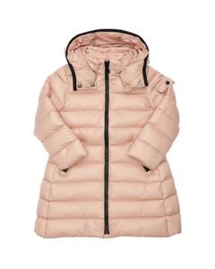 Moka Hooded Nylon Down Coat