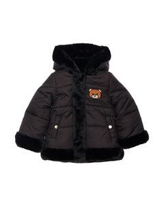 Reversible Nylon & Faux Fur Jacket
