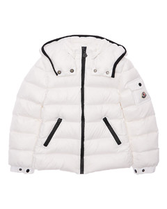 Bady Hooded Nylon Down Jacket