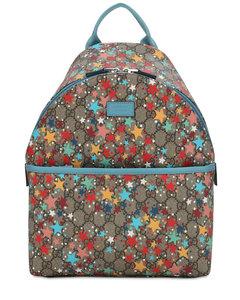 Gg Supreme Stars Print Backpack