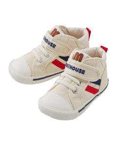 Velcro High-Top Sneakers