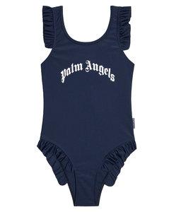 cotton sweatshirt with printed logo