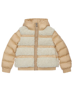 Gentiane Nylon & Faux Shearling Jacket