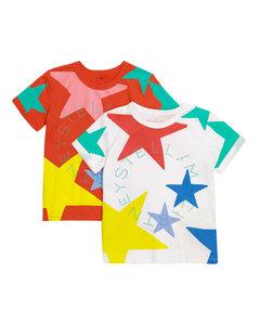 Mytheresa发售 — 棉质针织T恤两件套