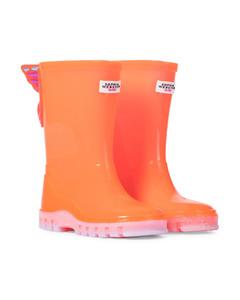 Butterfly rubber rain boots