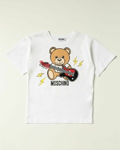 T-shirt with teddy