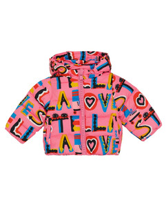 Baby printed puffer coat