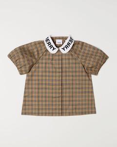 checked stretch cotton shirt
