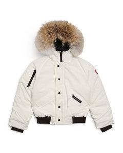 Kids Rundle Hooded Bomber Jacket