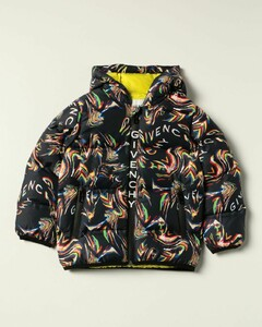 nylon down jacket with all over prints