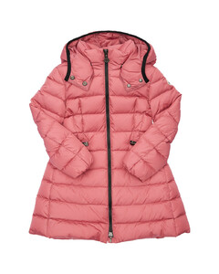 Charpal Hooded Nylon Down Coat
