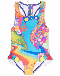 Kids Icon Stripe Diamond Quilted All-In-One (1-18 Months)