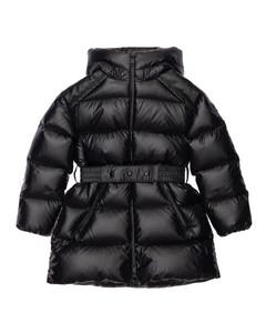 Adile Hooded Nylon Down Coat