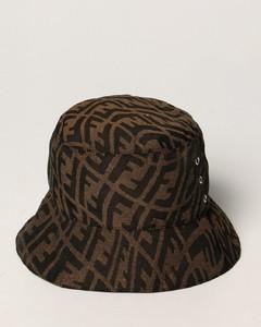 fisherman hat with all-over Vertigo logo