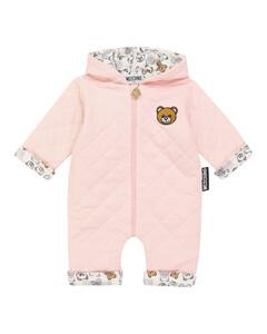 Baby quilted cotton onesie