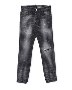 N°21 sneakers in leather with print