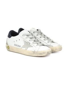 Superstar皮革運動鞋