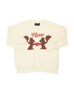 N°21 crewneck sweater in cotton with big logo