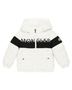 Avila teddy-effect down jacket in pink