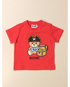 cotton t-shirt with big pirate teddy