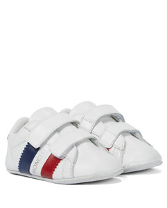 Baby leather sneakers
