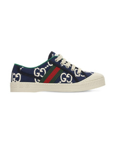 Gg Stretch Cotton Sneakers