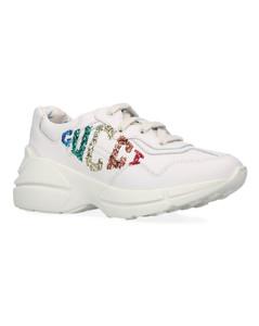 Kids Rhyton Glitter Sneakers
