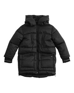 Hooded Nylon Puffer Jacket
