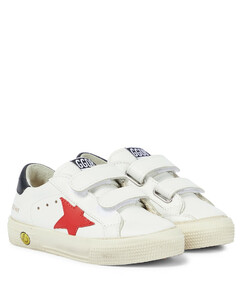 May School leather sneakers