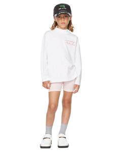 SSENSE发售白色Funnel Neck儿童长袖T恤