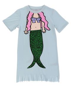 dress with mermaid print