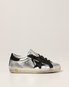 Super-Star classic sneakers in leather and suede