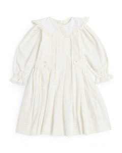 Embroidered-face wool beanie hat