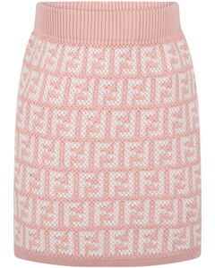 Baby quilted down and knit jacket