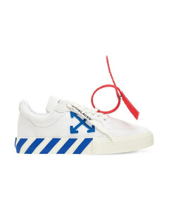 Lace-up Cotton Canvas Sneakers