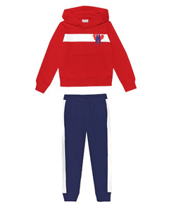 Cotton hoodie and trackpants set