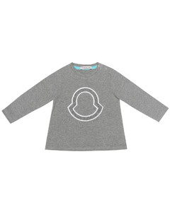 Baby stretch-cotton T-shirt