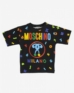 T-shirt with all-over multicolor prints