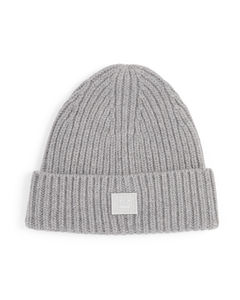 Kids Wool Logo Patch Beanie (3-10 Years)