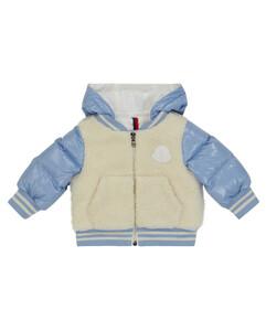 Baby fleece and down jacket