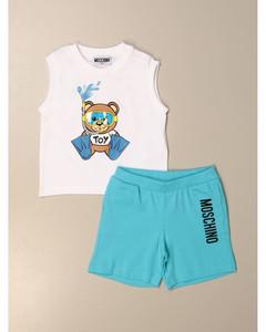 top + bermuda shorts set with teddy