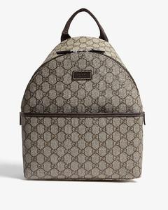 Kids GG Supreme coated canvas backpack